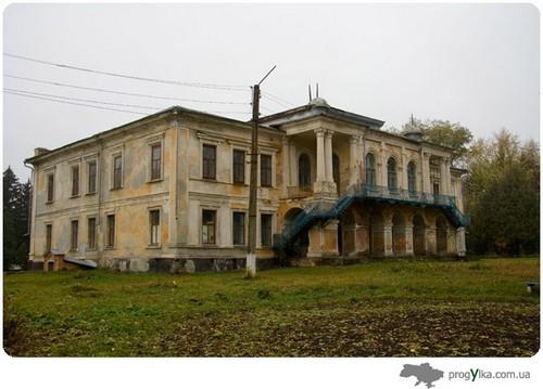 усадьба семьи Закревских, маєток родини Закревських
