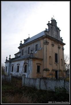 Вознесенський костел в Наварії