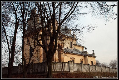 Костел в Наварії