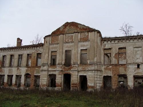Ізяслав, палац Сангушка