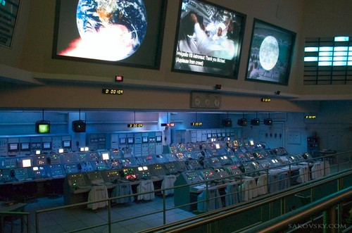 Центр управления полетом программы Апполон