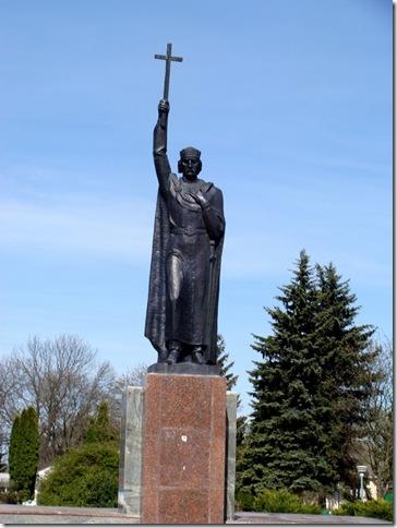 Ланівці, святий Володимир