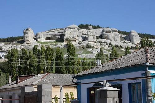 Каменные сфинксы