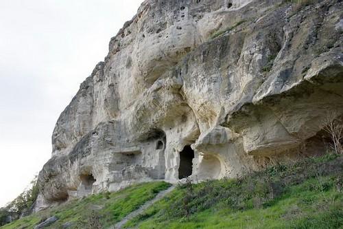 Пещерный комплекс перед входом