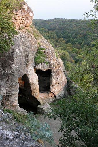 Оборонные пещеры