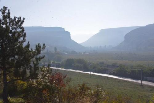Вид на долину Бельбек