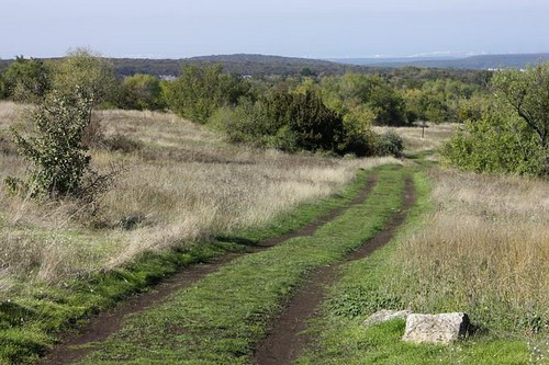 Вид с плато на Севастополь