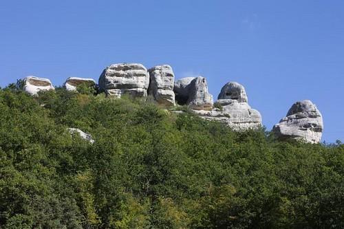 Сфинксы горы Узун-Тарла