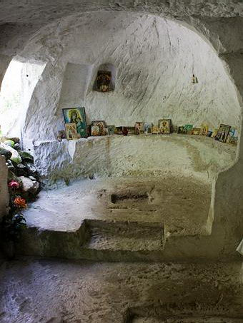 Внутри церкви Св.Софии