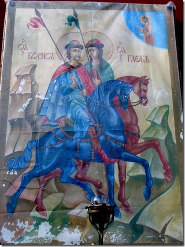 Вишгород, церква святих Бориса і Гліба