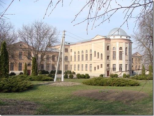 Сквира, гімназія