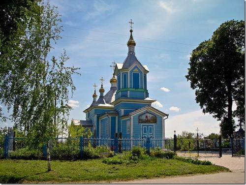 Корець, церква Святого Юрія