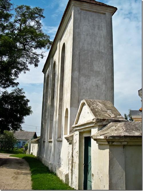 Корець, костел святого Антонія, дзвіниця