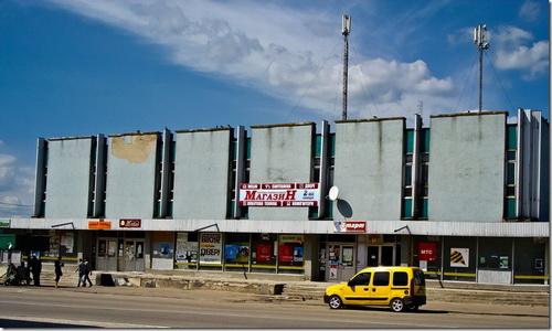 Корець, торговий центр