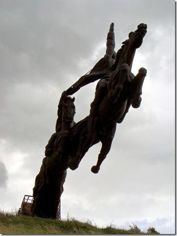 Олеське, пам'ятник Першій кінній армії Будьонного