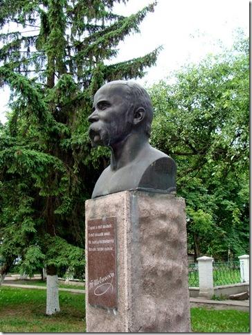 Кагарлик, пам'ятник Шевченкові