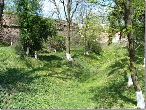 Олика, замок Радзивіллів, рови