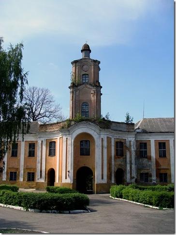 Олика, замок Радзивіллів