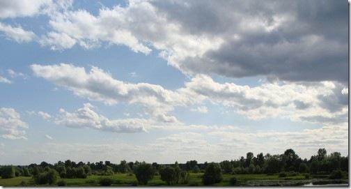 Остер, небо над Десною