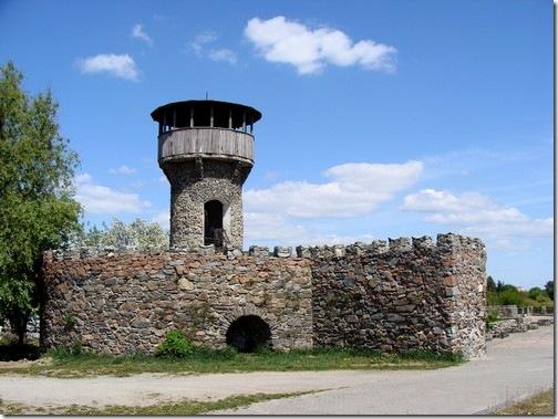 Новоград-Волинський, залишки замку