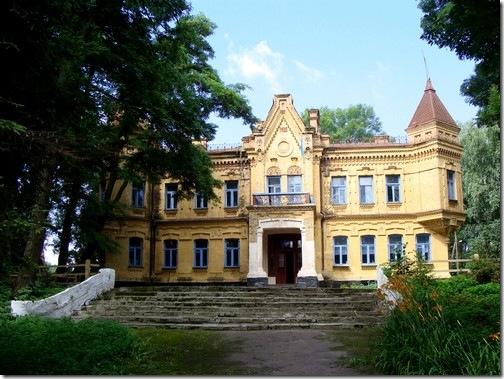 Турчинівка, палац Уварових