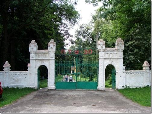 Турчинівка, ворота палацу