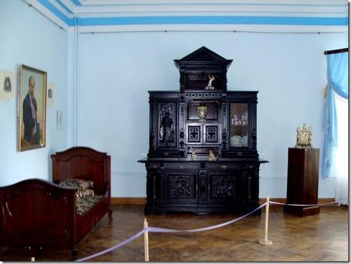 Качанівка, інтер'єри палацу