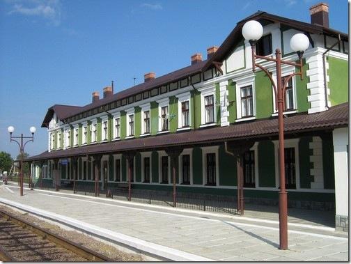 Копичинці, вокзал