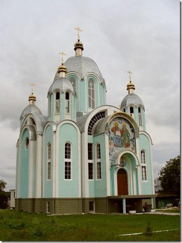 Копичинці, храм Різдва Пресвятої Трійці
