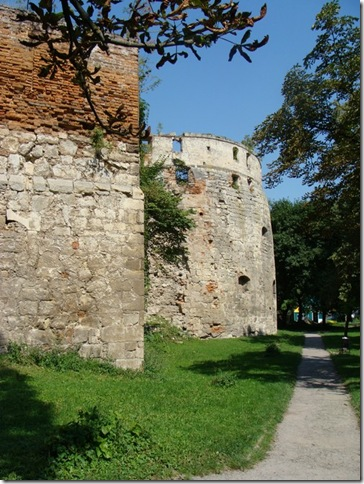 Бережани, замок