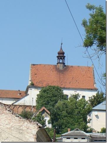 Бережани, костел святого Миколая