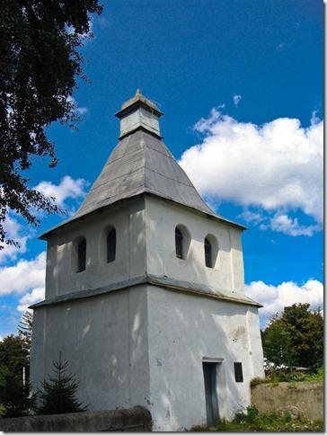 Самчики, дзвіниця церква Параскеви П'ятниці
