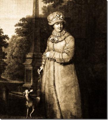 Масандровський палац, портрет Катерини II
