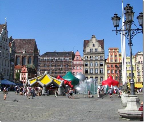 Вроцлав, площа Ринок