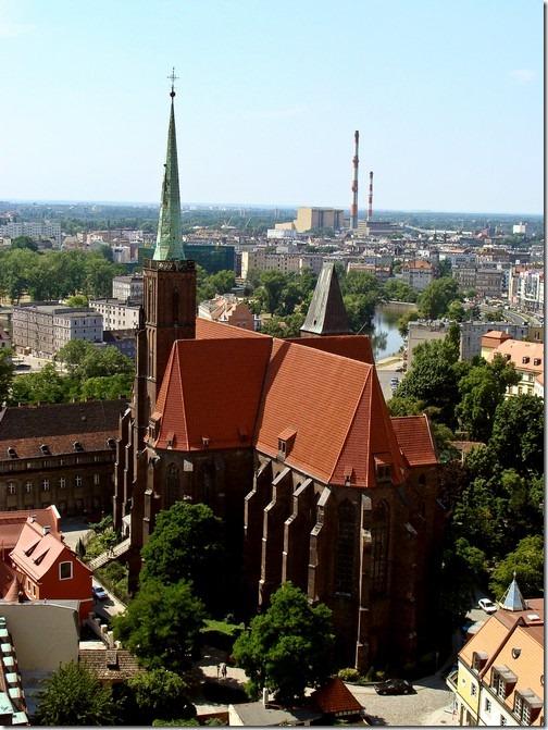 Вроцлав, базиліка Св. Ельжбетти Угорської