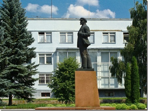 Андрушівка, пам'ятник Леніну