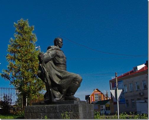 Макарів, військовий меморіал
