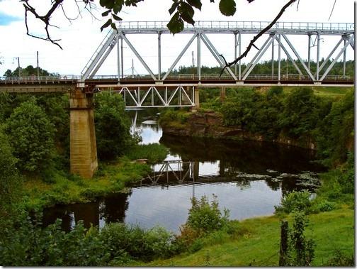 Коростень, річка Уж