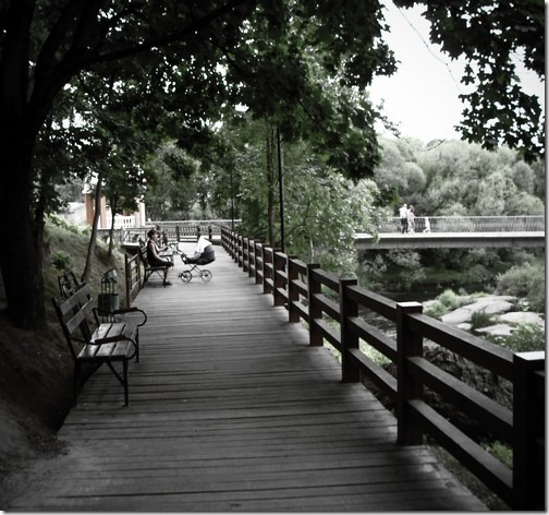 Коростень, парк