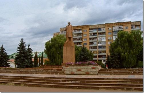Коростень, пам'ятник Леніну