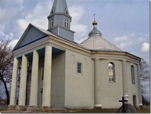 Старий Остропіль, Преображенська церква