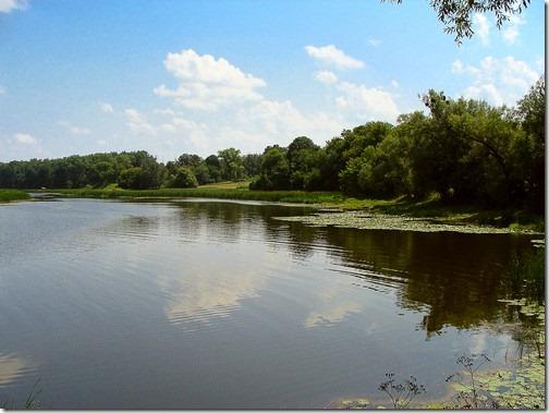 Ліщин, річка Гуйва