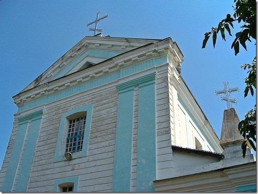 Ліщин, Троїцький костел