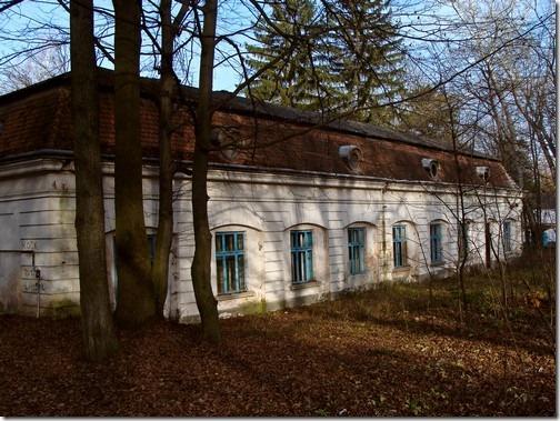 Скала-Подільська, будівлі маєтку Голуховських