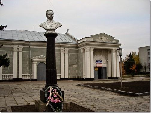Бердичів, пам'ятник Фрунзе