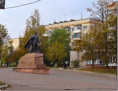 Бердичів, пам'ятник Григорію Котовському