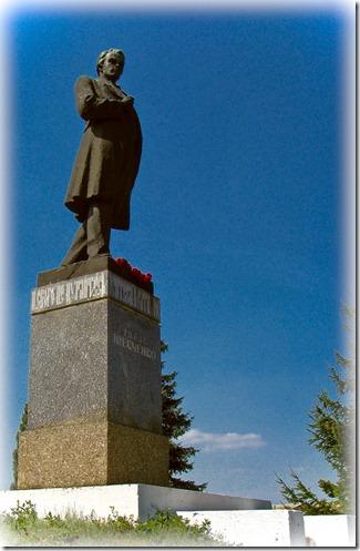 Яготин, пам'ятник Шевченкові