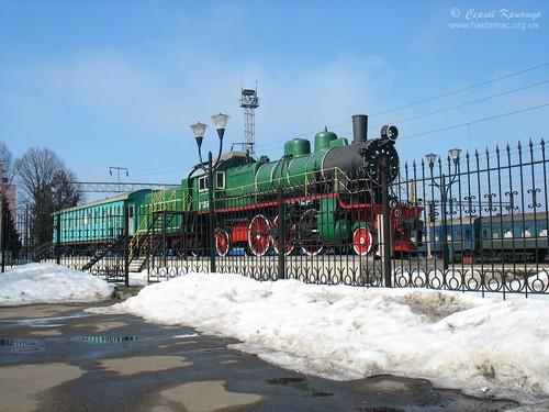 паровоз-музей