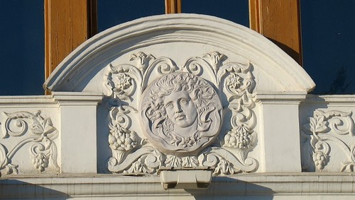 декор будівлі Південного вокзалу