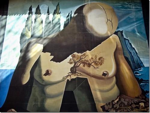 """Музей Далі. Копія декорацій до балету  """"Лаберинто"""""""